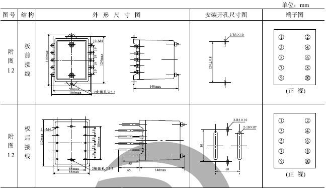 jzy-17中间继电器_jzj-17静态中间继电器