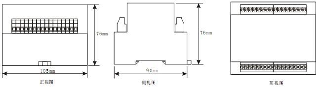 中间继电器内部接线图